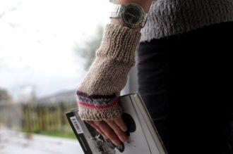 Parmaksız eldiven nasıl örülür anlatımlı (1)