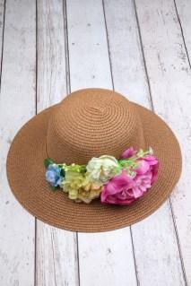 İşlemeli Hasır Şapkalar