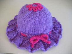 El Örgüsü Bebek Şapkası Modelleri