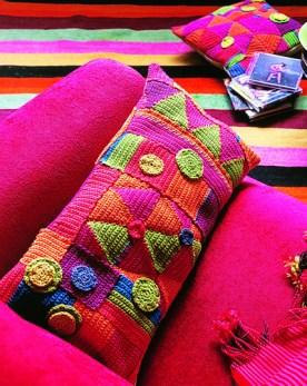 Renkli Kırlent Örnekleri