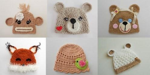 Hayvan Figürlü Çocuk Şapka ve Atkı Modelleri