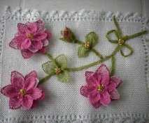 İğne Oyası Küpe Çiçeği Örnekleri (70)