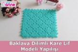 baklava dilimli kare lif modeli yapımı-1