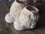 Örgü Patik Ev Ayakkabısı Modelleri