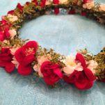 Gelin Tacı Çiçekli (11)