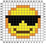 Smile (Gülen Yüz) Şekilleri Lif Modelleri ve Şablonları (2)