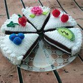 Örgü ile yapılan harika pasta modelleri (2)