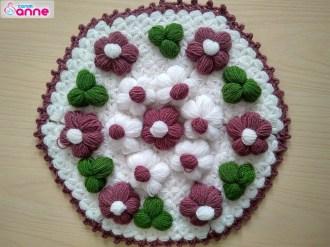 Pofuduk çiçekli lif yapımı