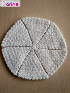 Yuvarlak lif yapımı - Kolay yuvarlak lif modeli (2)