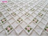 Bebek Battaniyesi Yapımı - Tunus işi (3)