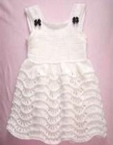 Bebek Yazlık Örgü Elbise Modelleri-3