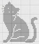 Kanaviçe (Etamin) Kedi Şablonları (9)