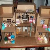 Kartondan Ev Yapımı-5