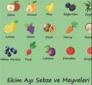 Ekim Ayı Meyve ve Sebzeleri-1