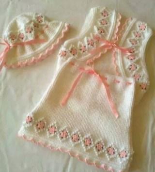Kız Bebek Örgü Modelleri-15