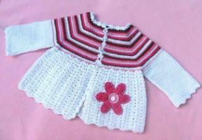 Kız Bebek Örgü Modelleri-9