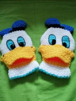 Donald duck (figürlü) lif yapılışı