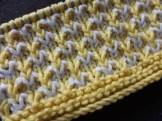 İki renkli örgü örneği