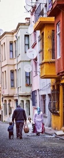Balat streets photo