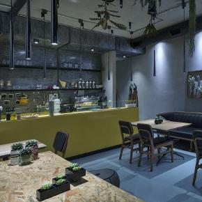 Photo of LiT Karaköy's beautifully designed restaurant