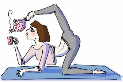LiT yoga illüstrasyon