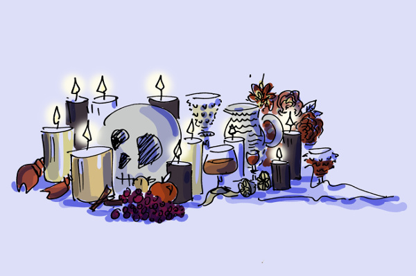 Illustration of NYKS candles