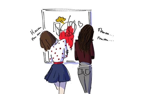 Иллюстрация Printemps des Artistes
