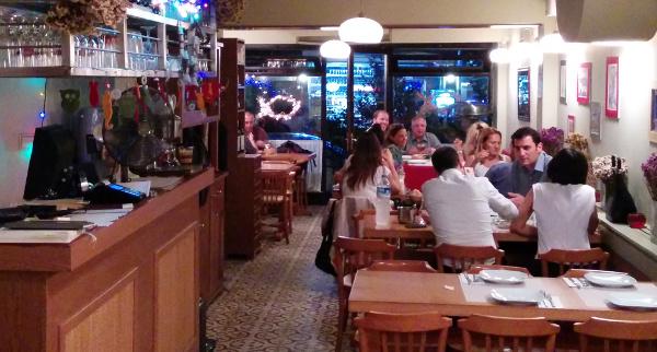 Sıdıka lokantanın Beşiktaş şubesi