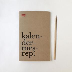 Kalendermeşrep notebook by güzel kelimeler dükkani