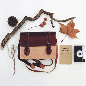 Grav Grav wood bag foto1
