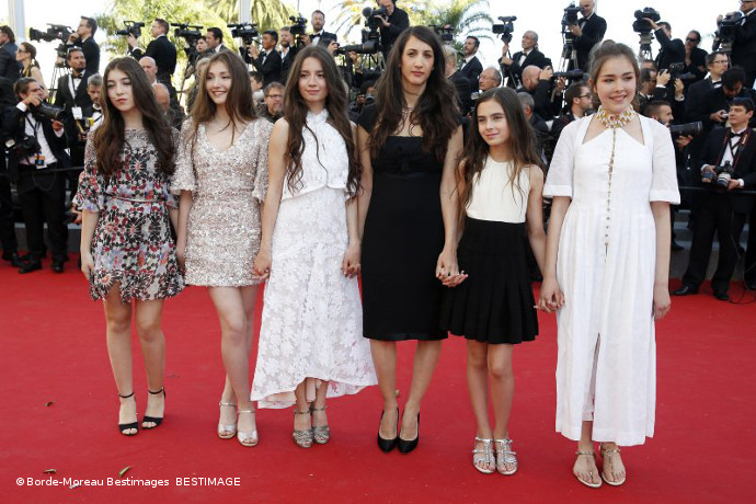 Mustang crew at Cannes Film Festival
