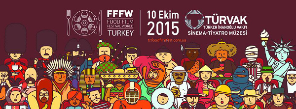 Istanbul Food Film Festival poster