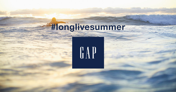 Gap longlivesummer kampanya