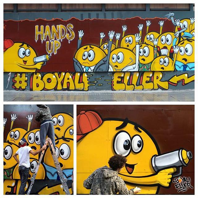 Street art from @boyalieller instagram account