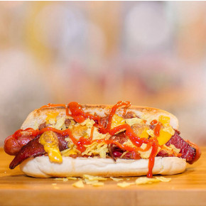 Jerry's hot dog foto2