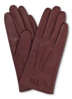 Tommy Hilfiger leather gloves