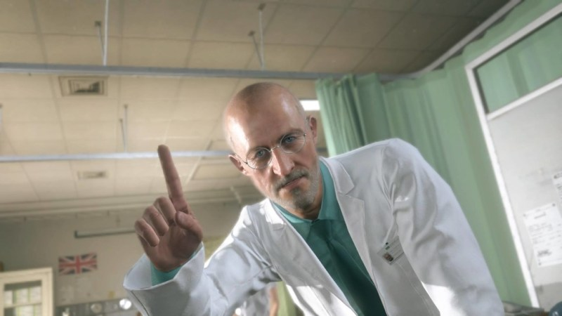 The doctor from the prologue of MGSV.