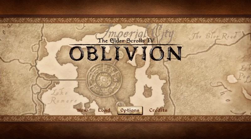Oblivion title screen