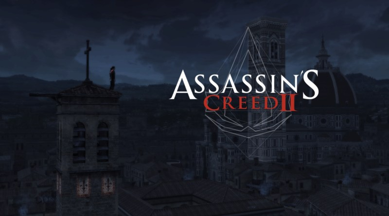 Assassin's Creed II title screen