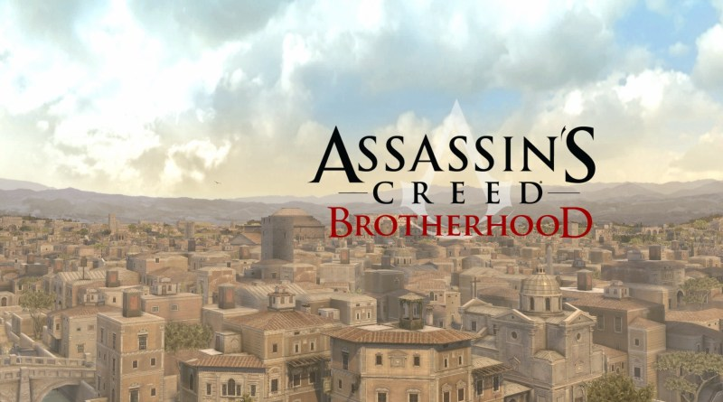 Assassin's Creed Brotherhood title screen
