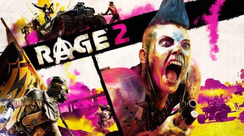 Rage 2 title screen