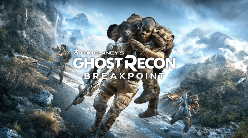 Ghost Recon Breakpoint title screen