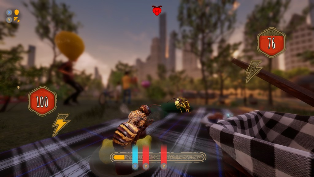 Illustrating the QTE style combat system.