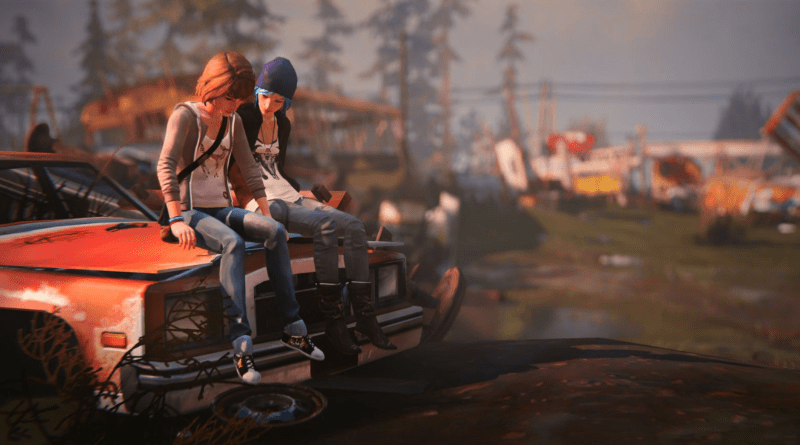 Life is Strange press art.