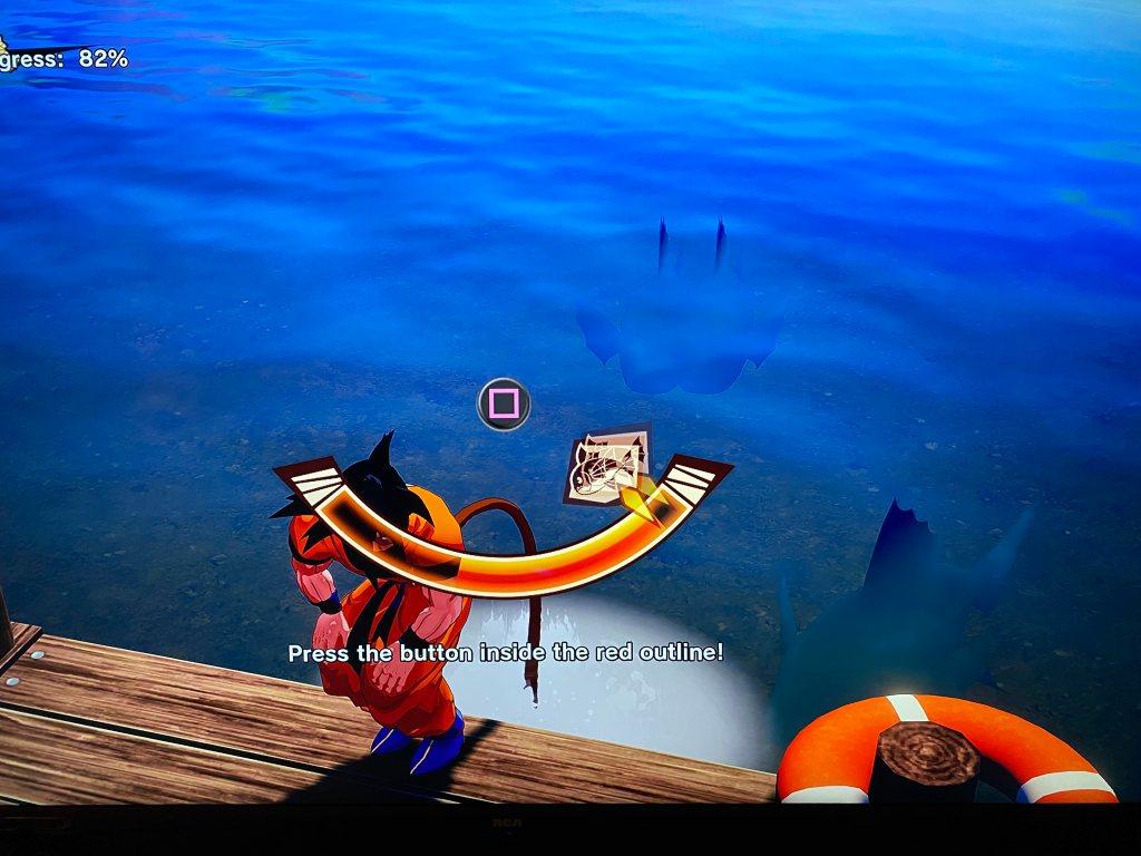 Fishing QTE bar