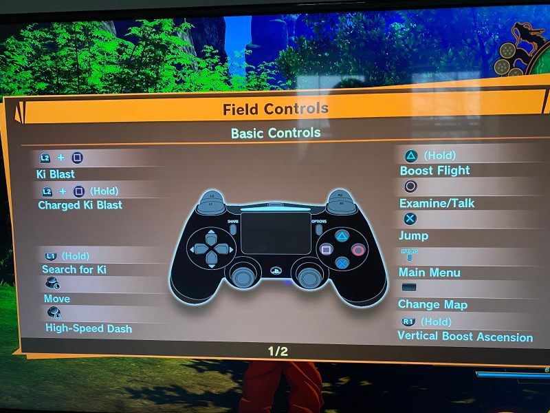 Field controls page 1.