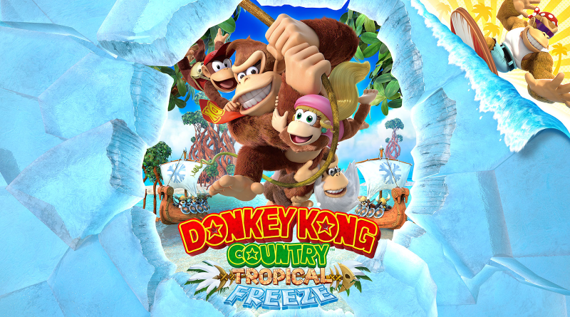 Donkey Kong Country Tropical Freeze cover art