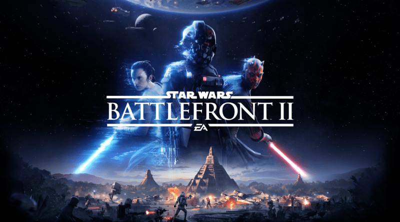 Star Wars Battlefront 2 - key art showing logo and characters