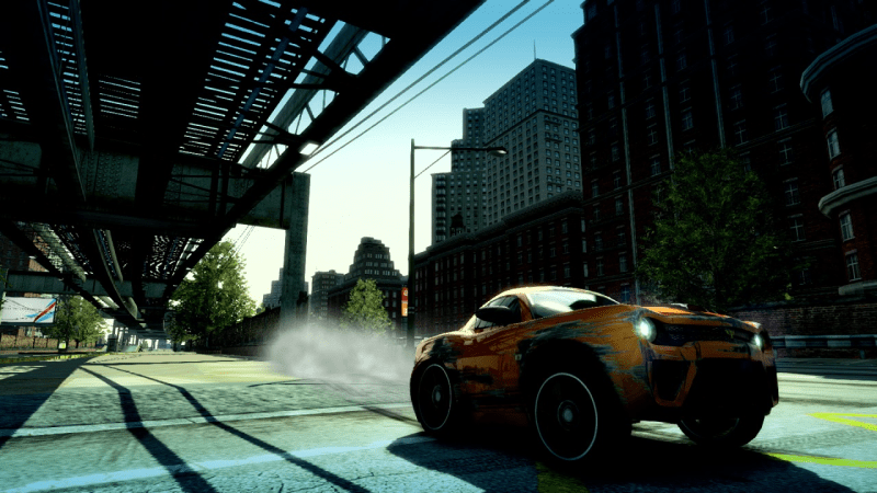 Burnout Paradise Remastered drifting toy car