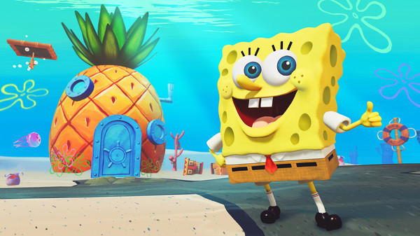 SpongeBob press art.